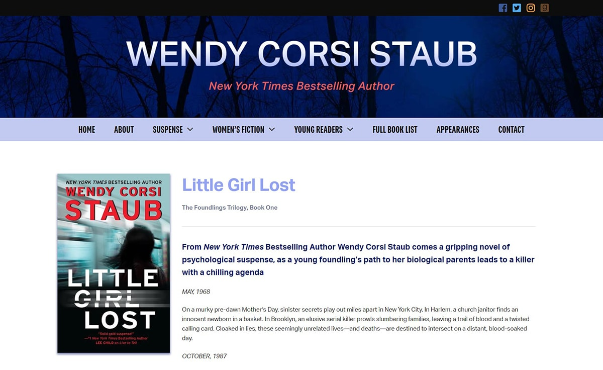 Wendy Corsi Staub - Official Website